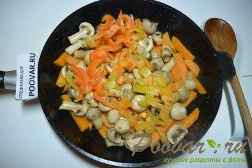 Жареный батат с грибами Шаг 4 (картинка)