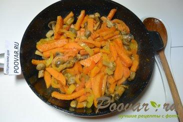 Жареный батат с грибами Шаг 6 (картинка)
