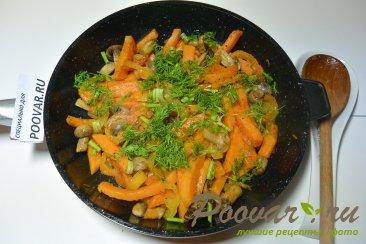Жареный батат с грибами Шаг 7 (картинка)