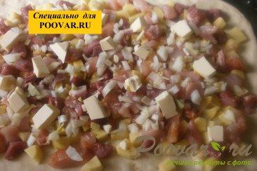 Мясной пирог с курицей и свининой Шаг 14 (картинка)