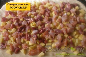 Мясной пирог с курицей и свининой Шаг 13 (картинка)