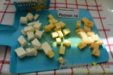 Овощной салат с сыром Шаг 2 (картинка)