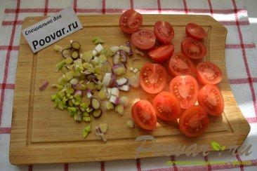 Овощной салат с сыром Шаг 3 (картинка)