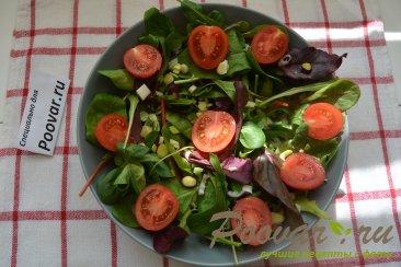 Овощной салат с сыром Шаг 6 (картинка)