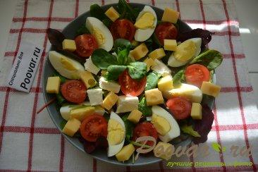 Овощной салат с сыром Шаг 8 (картинка)