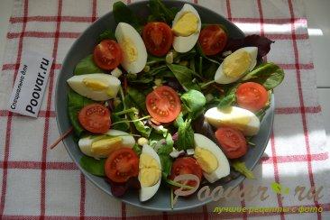 Овощной салат с сыром Шаг 7 (картинка)