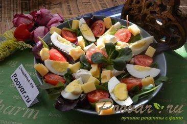 Овощной салат с сыром Шаг 9 (картинка)