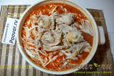 Борщ с курицей и свежей капустой Шаг 11 (картинка)