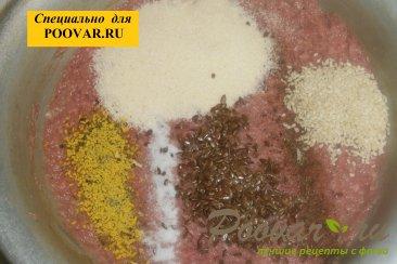 Мясные котлеты с семенами льна и кунжута Шаг 2 (картинка)