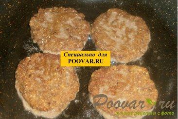 Мясные котлеты с семенами льна и кунжута Шаг 5 (картинка)