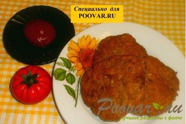 Мясные котлеты с семенами льна и кунжута Шаг 7 (картинка)