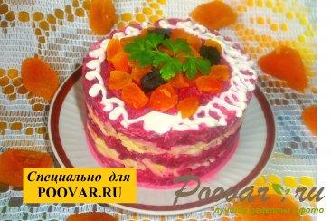 Свекольный салат с сыром и сухофруктами Шаг 14 (картинка)