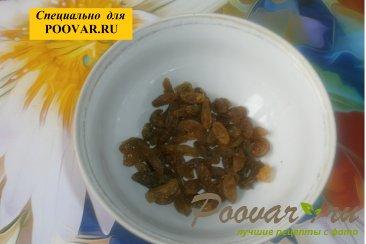 Творожные кексы с кокосом и изюмом Шаг 1 (картинка)