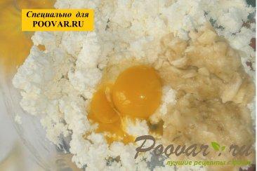 Творожные кексы с кокосом и изюмом Шаг 4 (картинка)