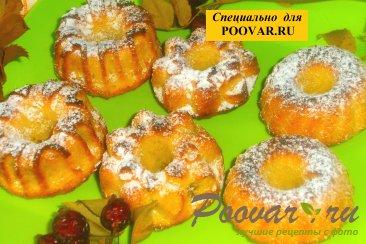 Творожные кексы с кокосом и изюмом Шаг 12 (картинка)