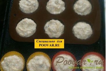 Творожные кексы с кокосом и изюмом Шаг 9 (картинка)