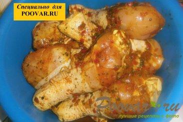 Куриные голени с тыквой и вялеными помидорами Шаг 2 (картинка)