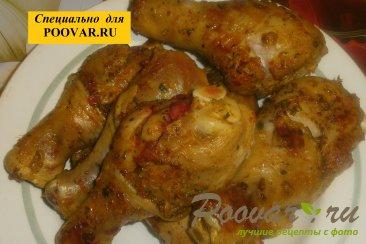 Куриные голени с тыквой и вялеными помидорами Шаг 8 (картинка)