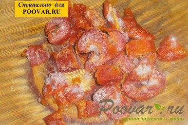 Куриные голени с тыквой и вялеными помидорами Шаг 7 (картинка)