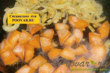 Куриные голени с тыквой и вялеными помидорами Шаг 9 (картинка)
