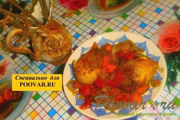 Куриные голени с тыквой и вялеными помидорами Шаг 13 (картинка)