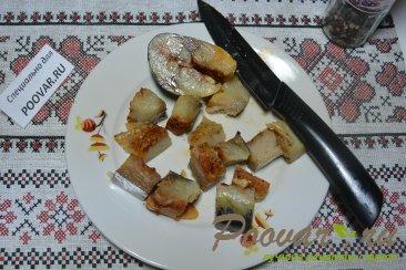 Салат из малосольной рыбы Шаг 3 (картинка)