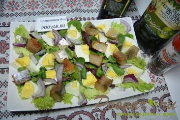 Салат из малосольной рыбы Шаг 5 (картинка)