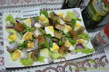 Салат из малосольной рыбы Шаг 6 (картинка)
