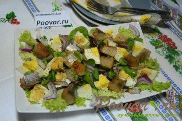 Салат из малосольной рыбы Шаг 7 (картинка)