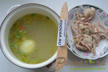 Куриный суп с лапшой и зеленым горошком Шаг 5 (картинка)