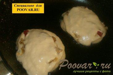 Оладьи с мясом и вялеными помидорами Шаг 12 (картинка)