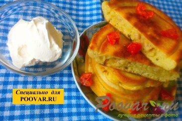 Оладьи с мясом и вялеными помидорами Шаг 15 (картинка)