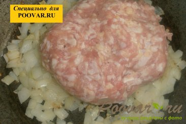 Оладьи с мясом и вялеными помидорами Шаг 3 (картинка)