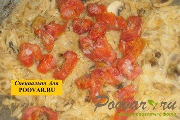 Тушёная капуста с фасолью и грибами Шаг 12 (картинка)