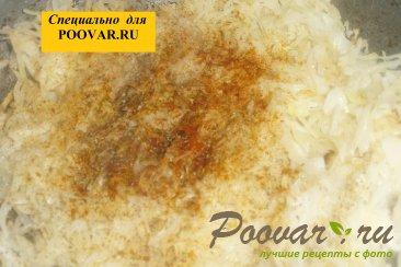 Тушёная капуста с фасолью и грибами Шаг 9 (картинка)