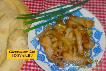 Жареное сало с луком Шаг 7 (картинка)