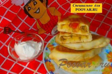 Жареные пирожки с луком и вялеными помидорами Шаг 20 (картинка)