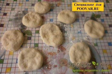 Жареные пирожки с луком и вялеными помидорами Шаг 13 (картинка)