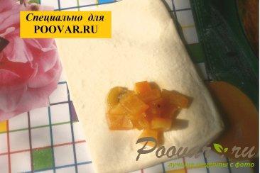 Слойки из слоёного теста с корками апельсина Шаг 4 (картинка)