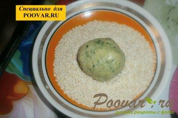 Печенье со шпинатом и сыром Шаг 8 (картинка)