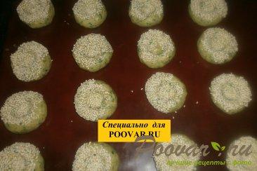 Печенье со шпинатом и сыром Шаг 10 (картинка)