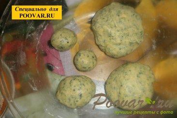 Печенье со шпинатом и сыром Шаг 7 (картинка)