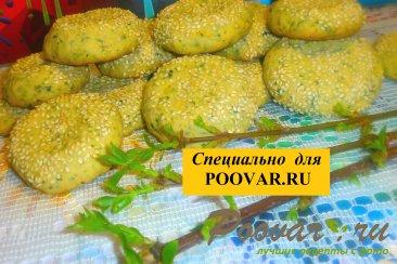 Печенье со шпинатом и сыром Шаг 13 (картинка)