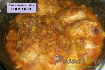 Курица в томате и сливовом сиропе Шаг 10 (картинка)