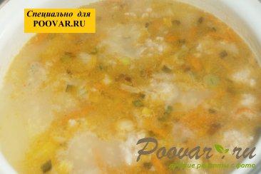 Суп с фрикадельками и пшеном Шаг 11 (картинка)