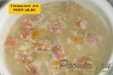Суп с фрикадельками и пшеном Шаг 9 (картинка)