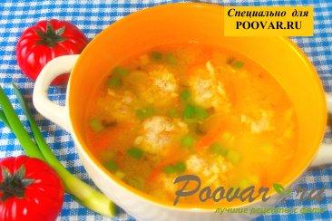 Суп с фрикадельками и пшеном Шаг 14 (картинка)