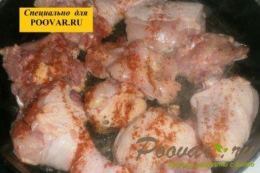 Булгур с курицей, луком и вялеными помидорами Шаг 5 (картинка)