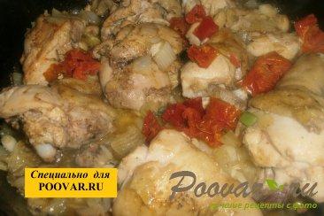Булгур с курицей, луком и вялеными помидорами Шаг 10 (картинка)