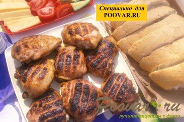 Бёдра куриные с горчицей на мангале Изображение